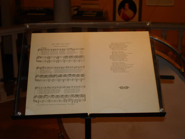 Object: Sheet music (Der stern von Texas) | UTSA Institute Of Texan Cultures