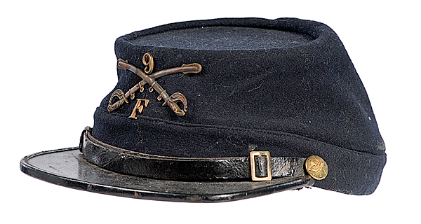 Object: Forage cap (Buffalo Soldier forage cap)   UTSA Institute Of Texan Cultures