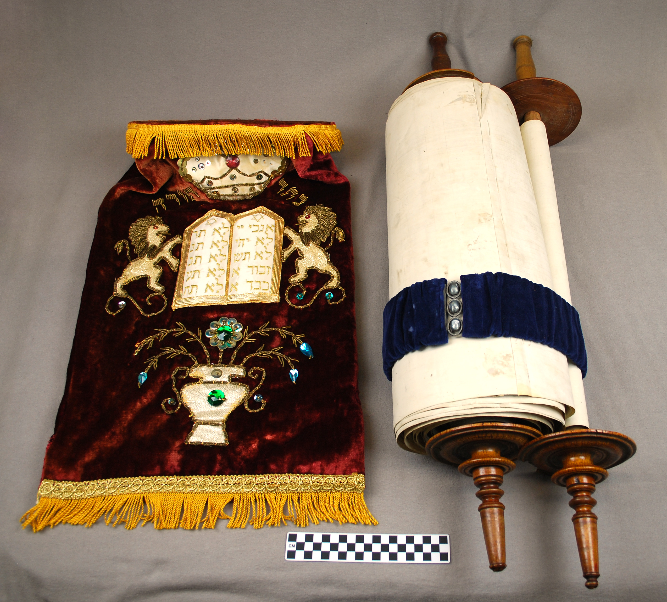 Object: Torah   UTSA Institute Of Texan Cultures