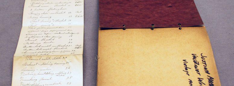 Object: Sampler (Sampler Book)