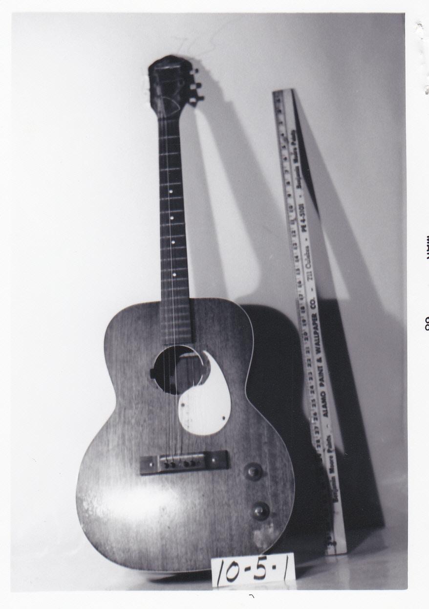 Object: Guitar | UTSA Institute Of Texan Cultures