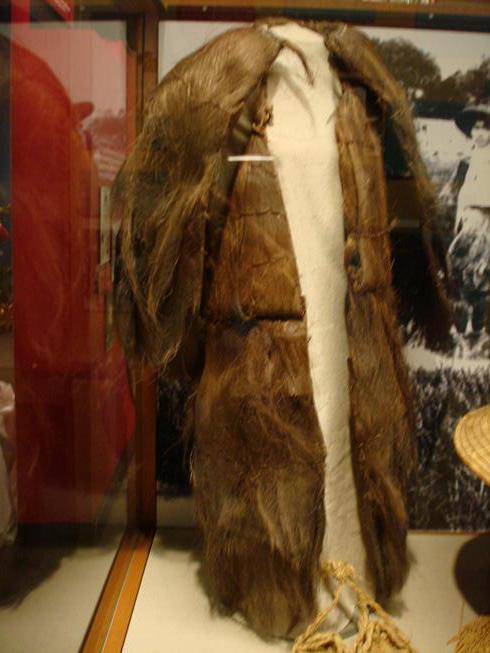 Object: Raincoat (Japanese Palm Raincoat) | UTSA Institute Of Texan Cultures