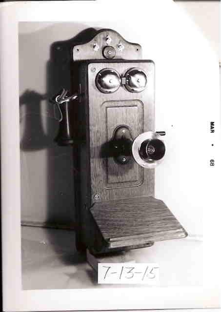 Object: Telephone   UTSA Institute Of Texan Cultures