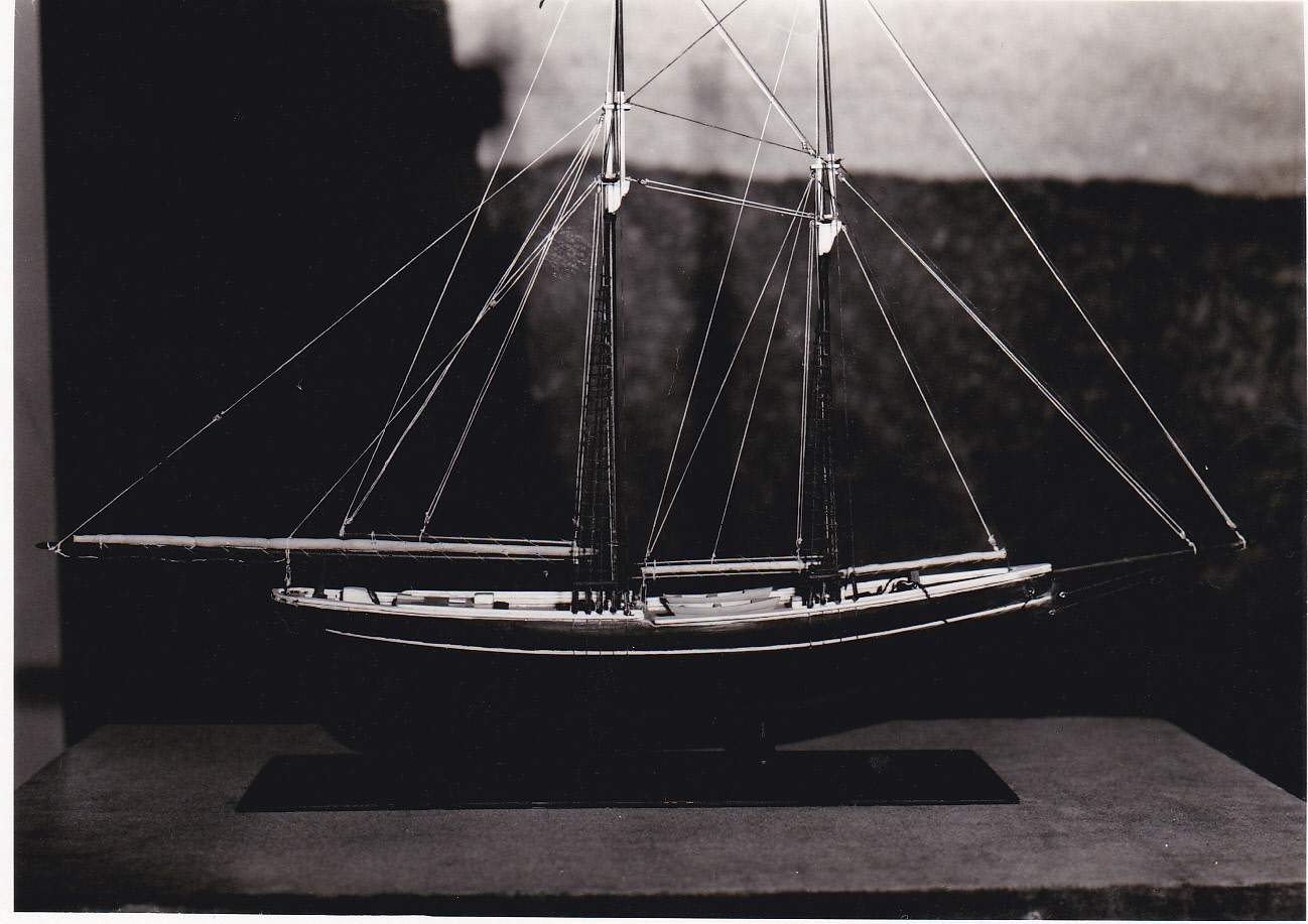 Object: Model ship (Model Ship of the Norwegian immigrant boat 'Restauration') | UTSA Institute Of Texan Cultures