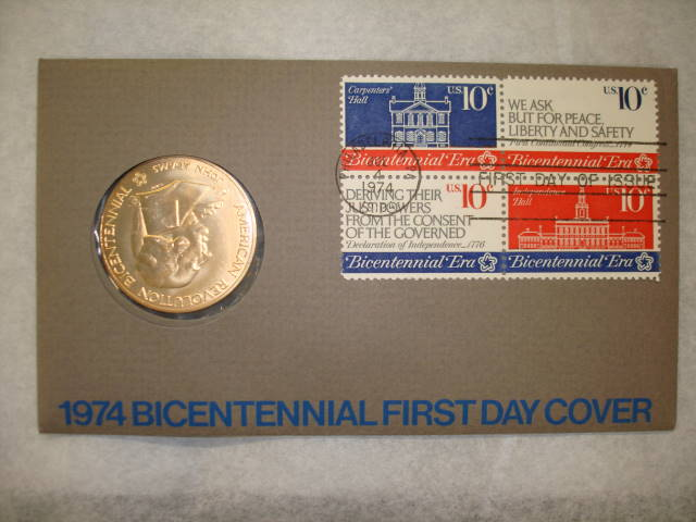 Object: Medallion (Bicentennial of the American Revolutionary War –  Commemorative Medallion (John Adams)) | UTSA Institute Of Texan Cultures