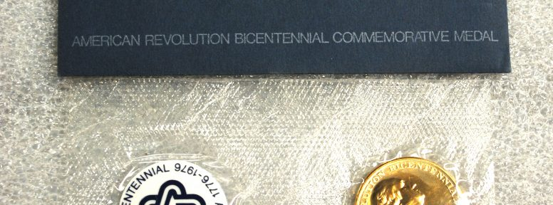 Object: Medallion (Bicentennial of the American Revolutionary War – Commemorative Medallion (George Washington))