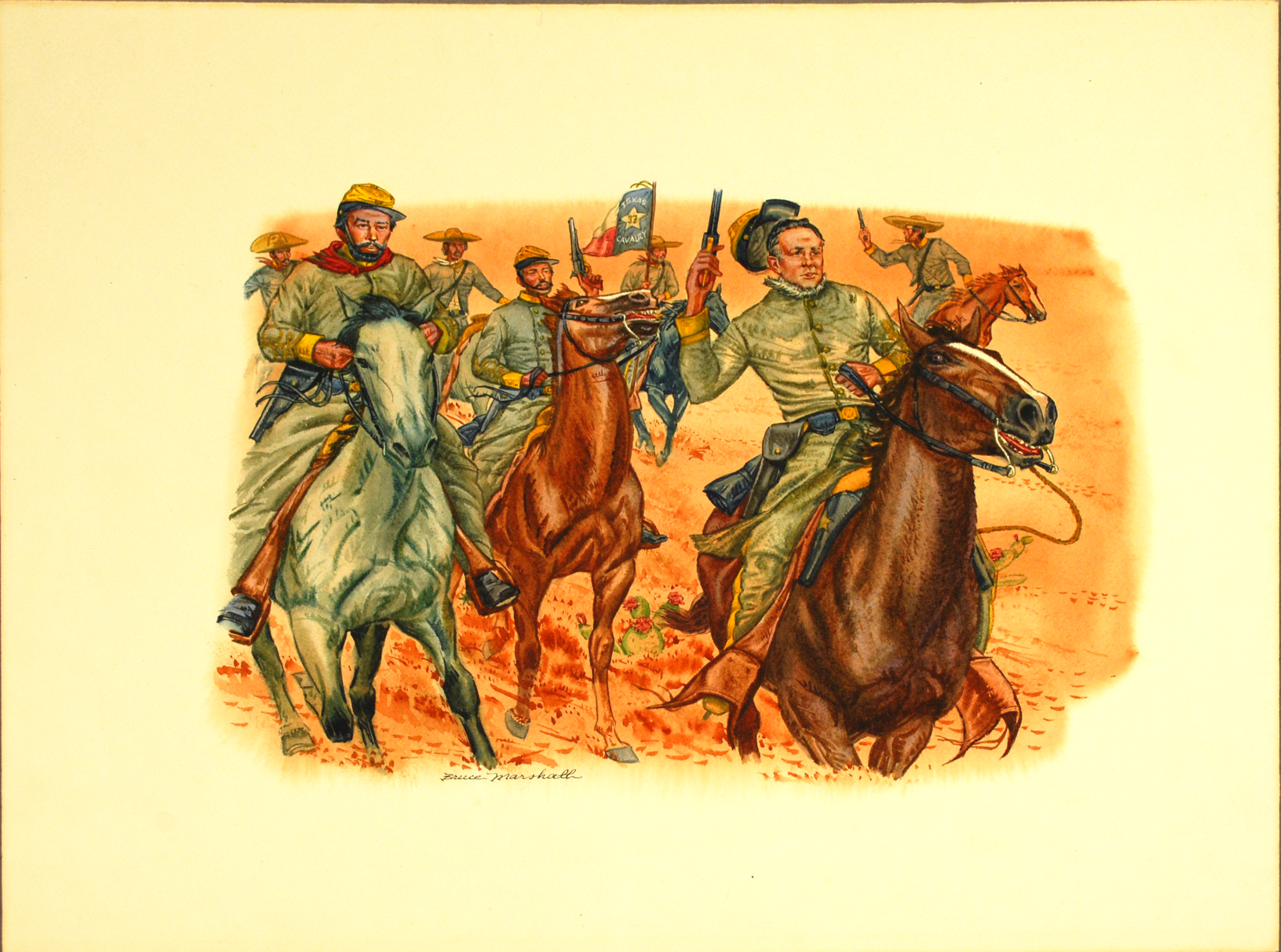 """Object: Painting (""""Santos Benavides and His Brothers"""" Painting) 