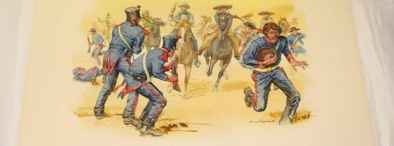 Object: Painting (Texas Rangers at Laredo, 1840)
