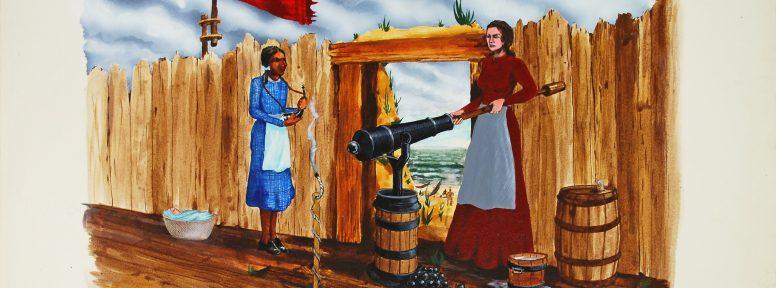 Object: Painting (Kiamta Long and Jane Long)