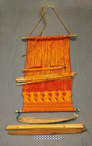 Object: Loom (Back-strap Loom) | UTSA Institute Of Texan Cultures
