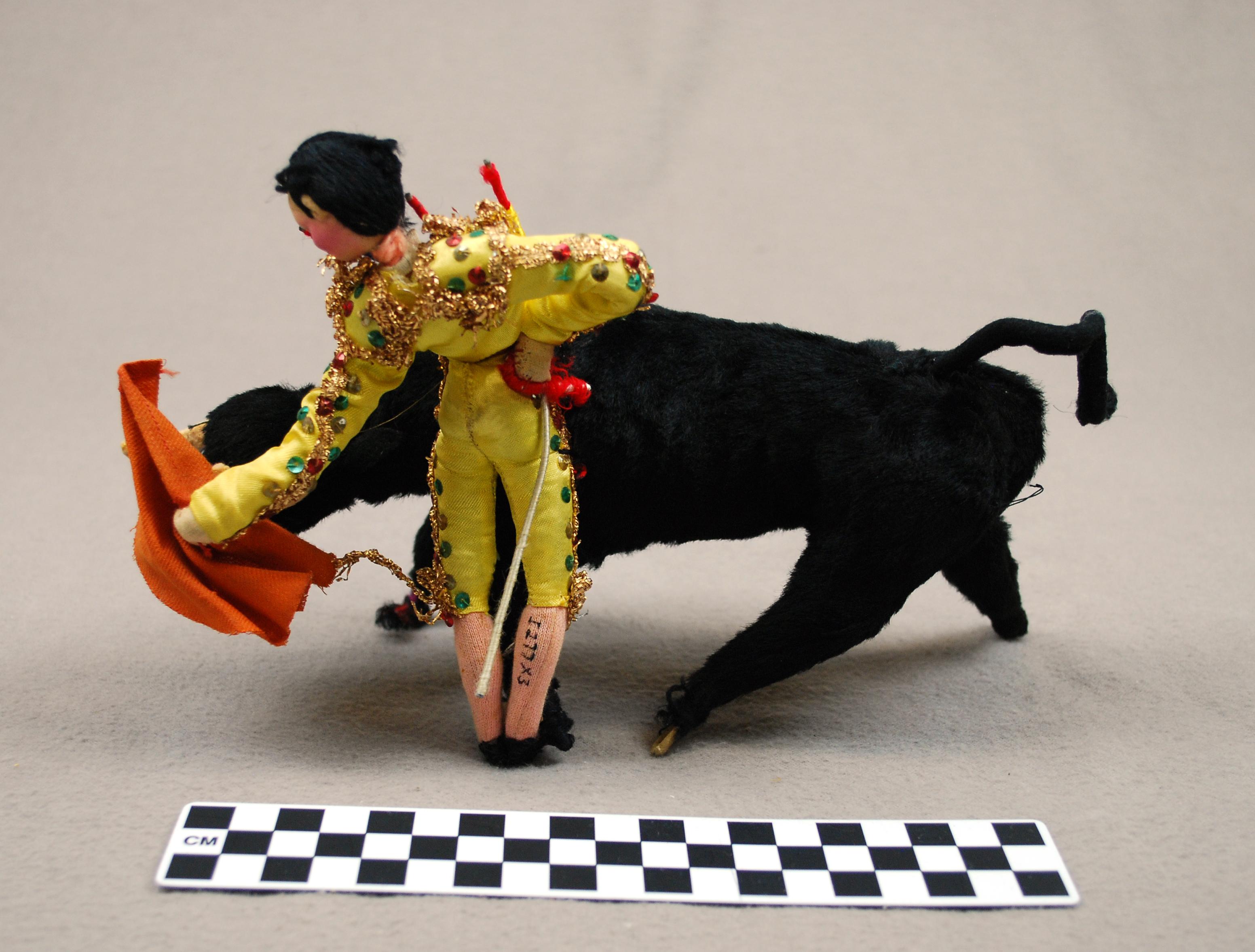 Object: Doll (bullfighter)   UTSA Institute Of Texan Cultures
