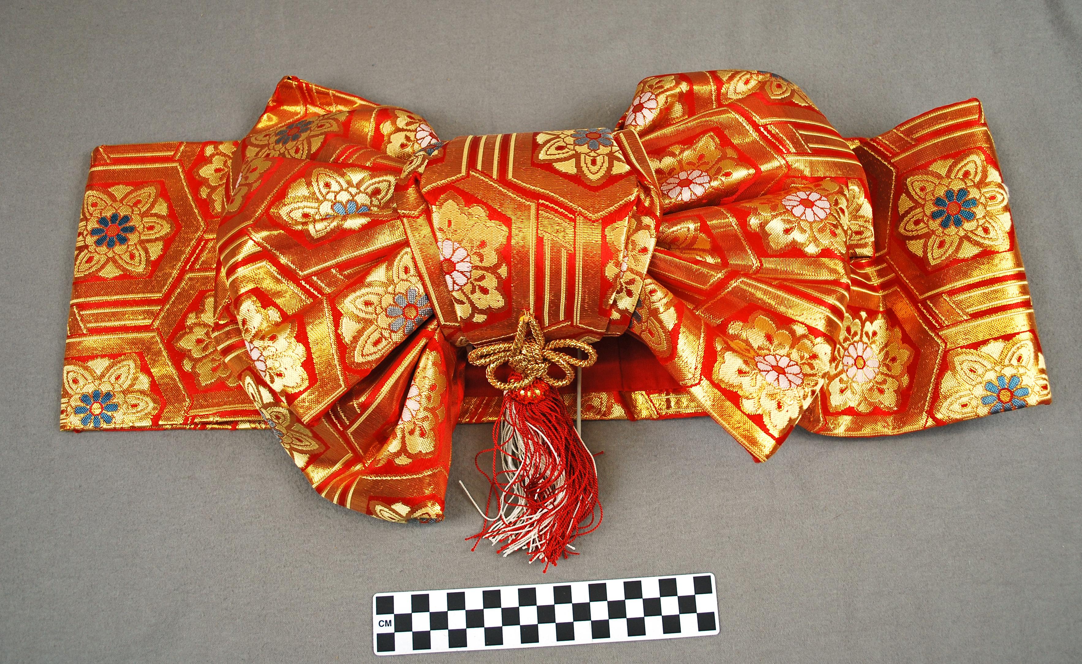 Object: Obi   UTSA Institute Of Texan Cultures