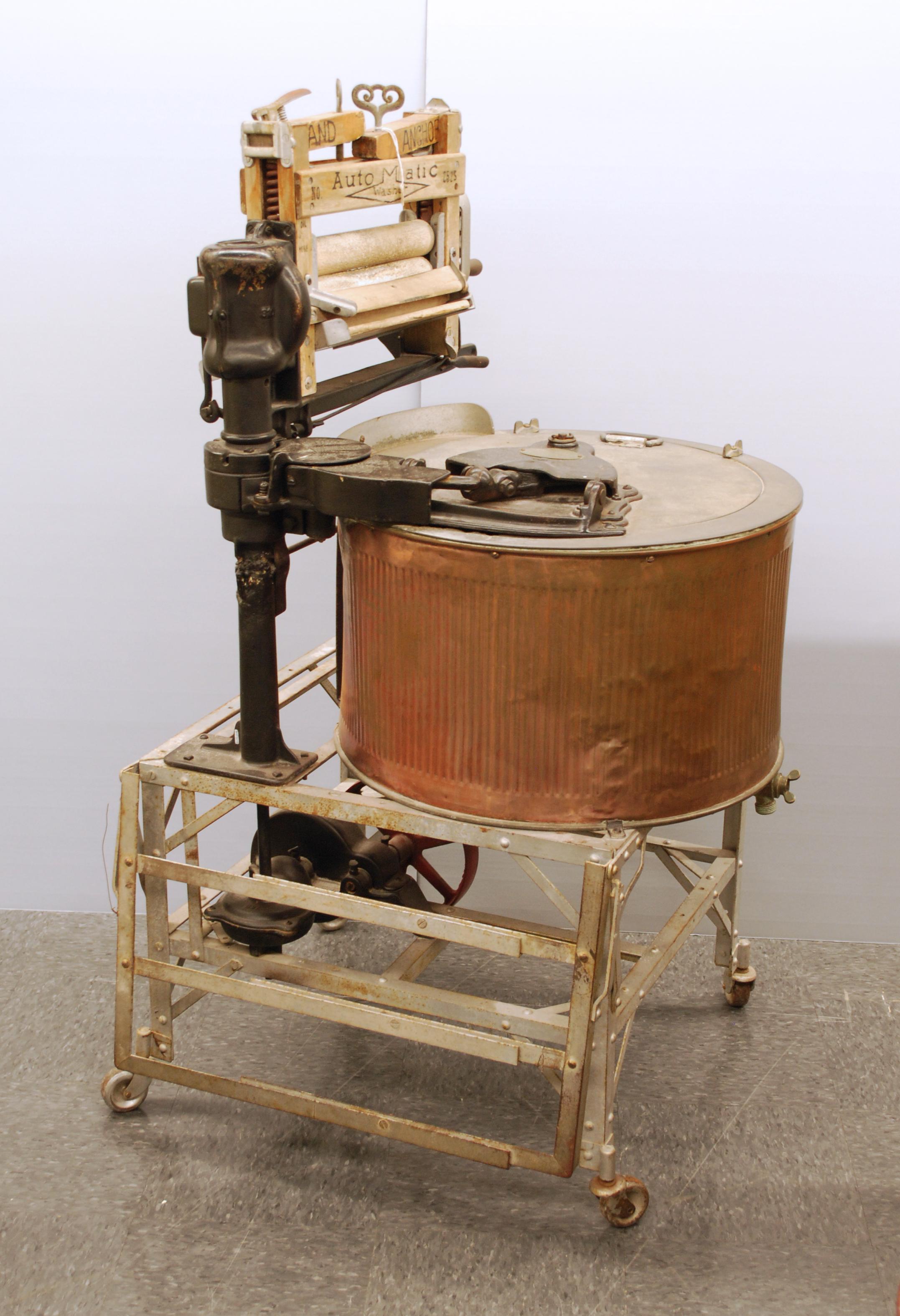 Object: Washing Machine   UTSA Institute Of Texan Cultures