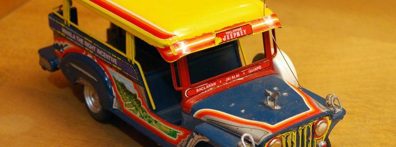 Object: Toy (Filipino Jeepney Bus)