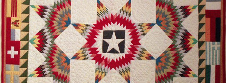 Object: Quilt (1984 Texas Folklife Festival Quilt)