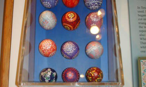 Object: Easter Eggs (Wendish Easter Eggs)