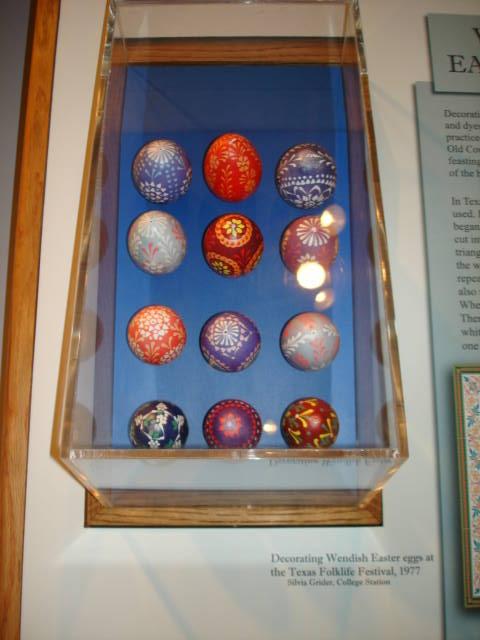 Object: Easter Eggs (Wendish Easter Eggs) | UTSA Institute Of Texan Cultures