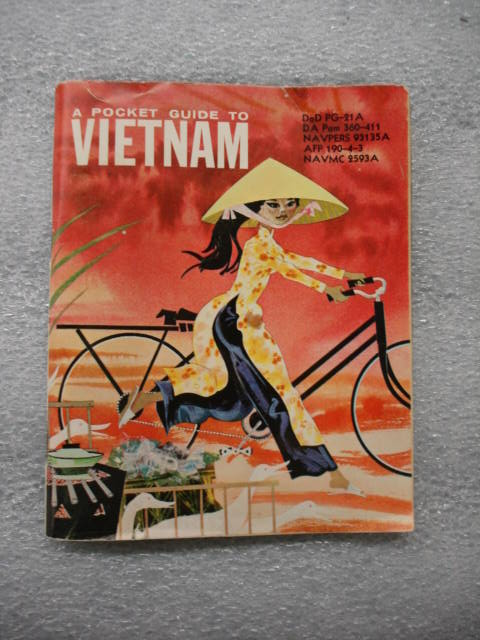 Object: Book (A Pocket Guide to Vietnam)   UTSA Institute Of Texan Cultures