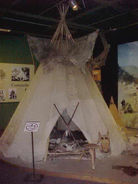 Object: Tipi   UTSA Institute Of Texan Cultures