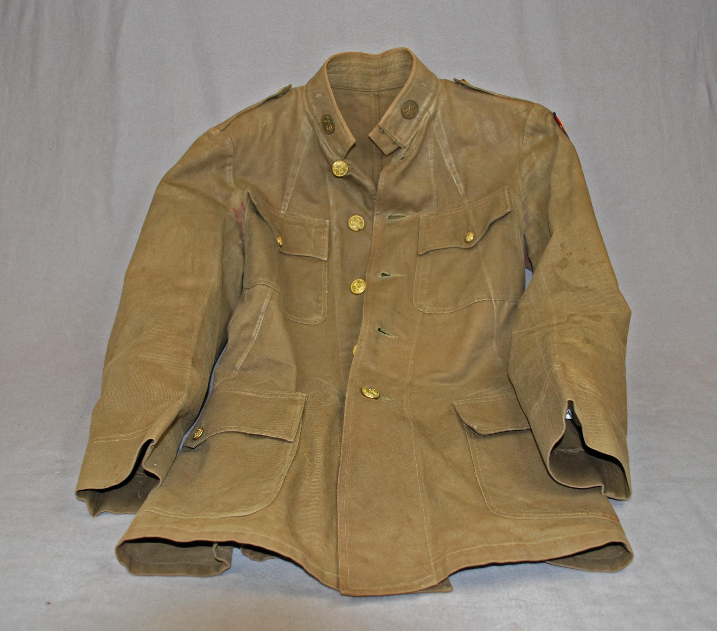 Object: Jacket (U.S. Army) | UTSA Institute Of Texan Cultures