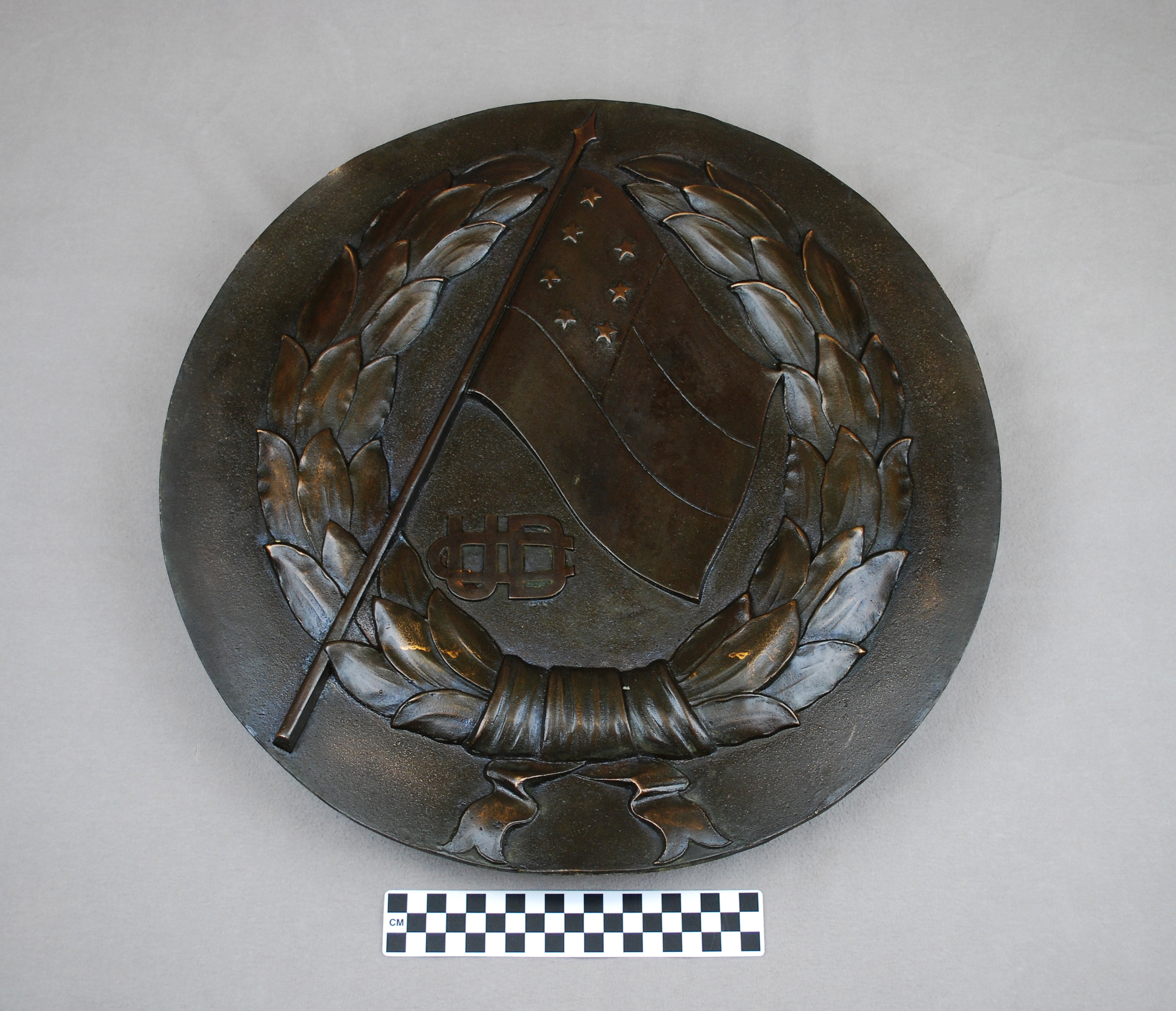 Object: Plaque (Confederate Plaque) | UTSA Institute Of Texan Cultures