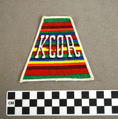 Object: Patch (KCOR AM Radio & TV Station Patch) | UTSA Institute Of Texan Cultures