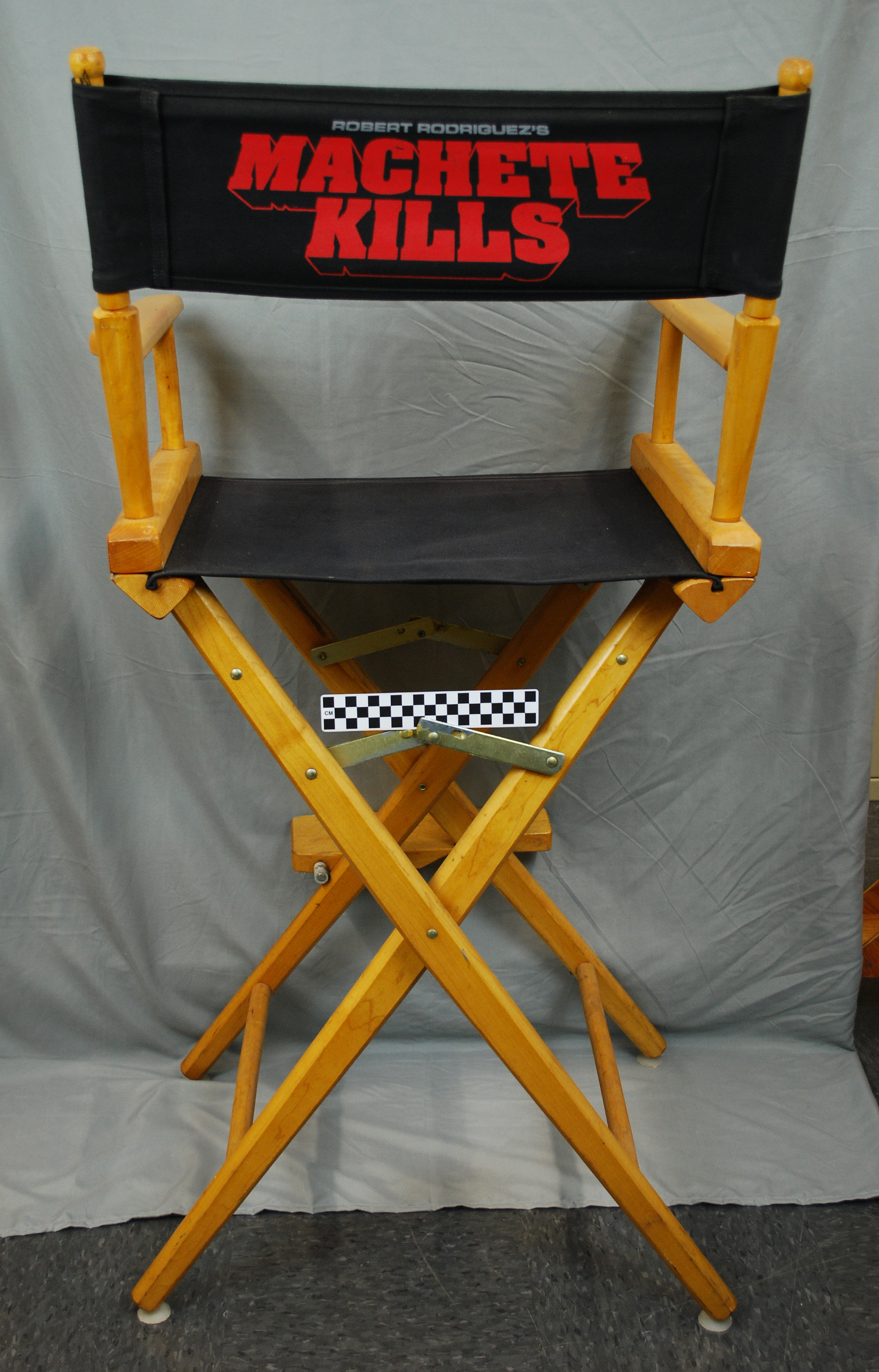 Object Blog: Director's Chair (Machete Kills) | UTSA Institute Of Texan Cultures