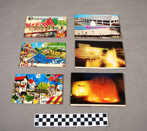 Object: Postcards (HemisFair'68 Postcards) | UTSA Institute Of Texan Cultures