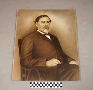 Object: Photographic Print (photographic print of Richard Allen) | UTSA Institute Of Texan Cultures