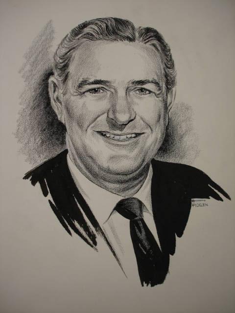 Object: Drawing (John Connally) | UTSA Institute Of Texan Cultures