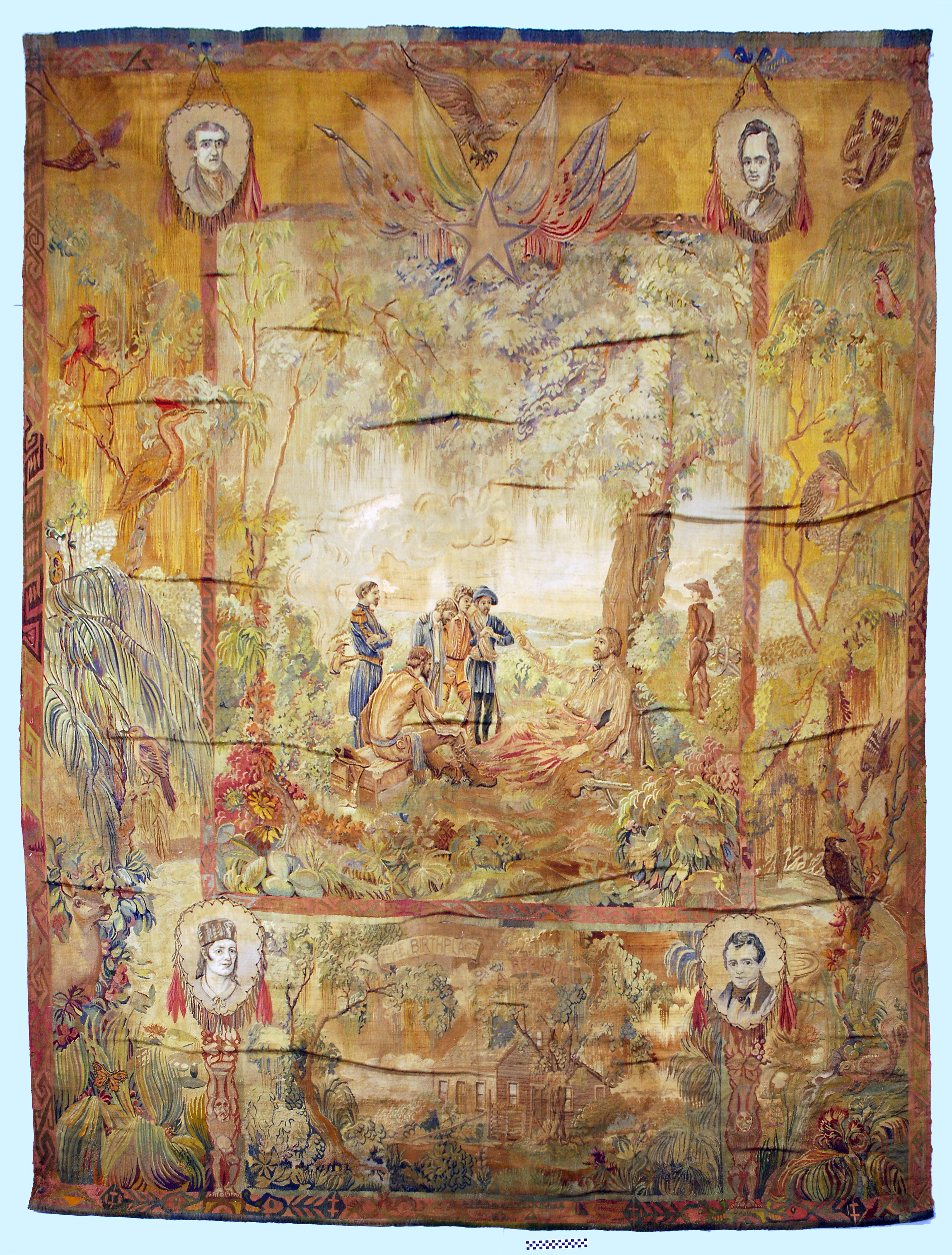 Object: Tapestry | UTSA Institute Of Texan Cultures