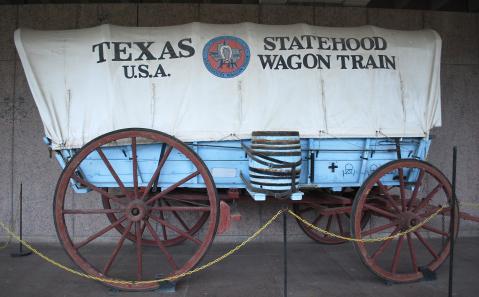 Object: Wagon (Conestoga Wagon)   UTSA Institute Of Texan Cultures