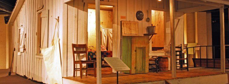 Object: Cabin (Sharecropper's Cabin)