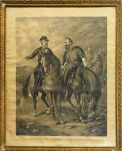 Object: Print (Last Meeting of Gen. Robert E. Lee and Stonewall Jackson) | UTSA Institute Of Texan Cultures