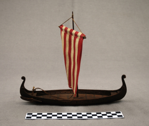 Object: Toy (Viking Toy Ship) | UTSA Institute Of Texan Cultures