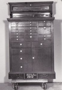 Object: Cabinet (Dentist Cabinet)   UTSA Institute Of Texan Cultures