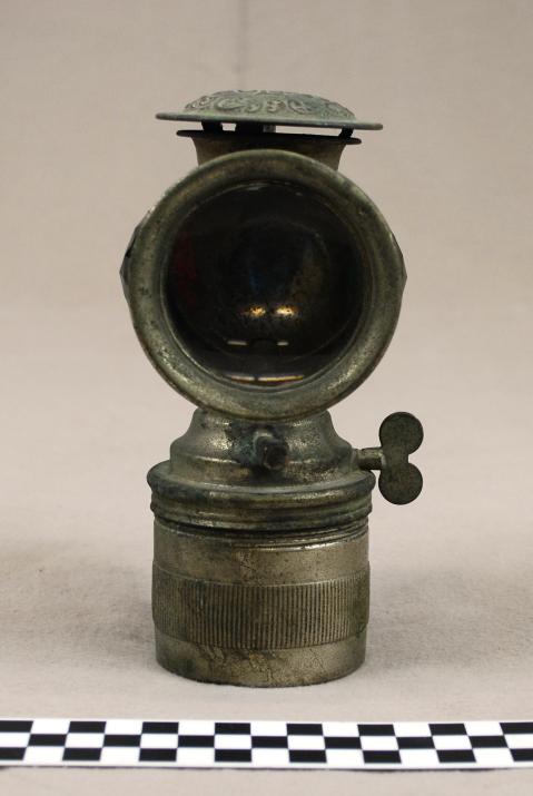 Object: Lamp (Bicycle Lamp)   UTSA Institute Of Texan Cultures