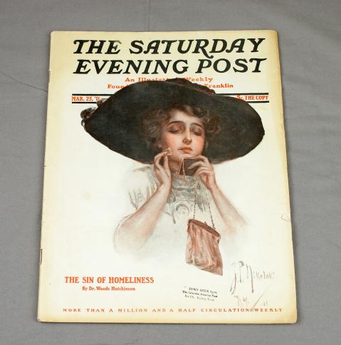 Object: Magazine (The Saturday Evening Post Magazine) | UTSA Institute Of Texan Cultures