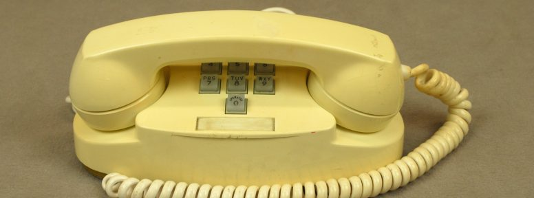 Object: Telephone (Princess Telephone)