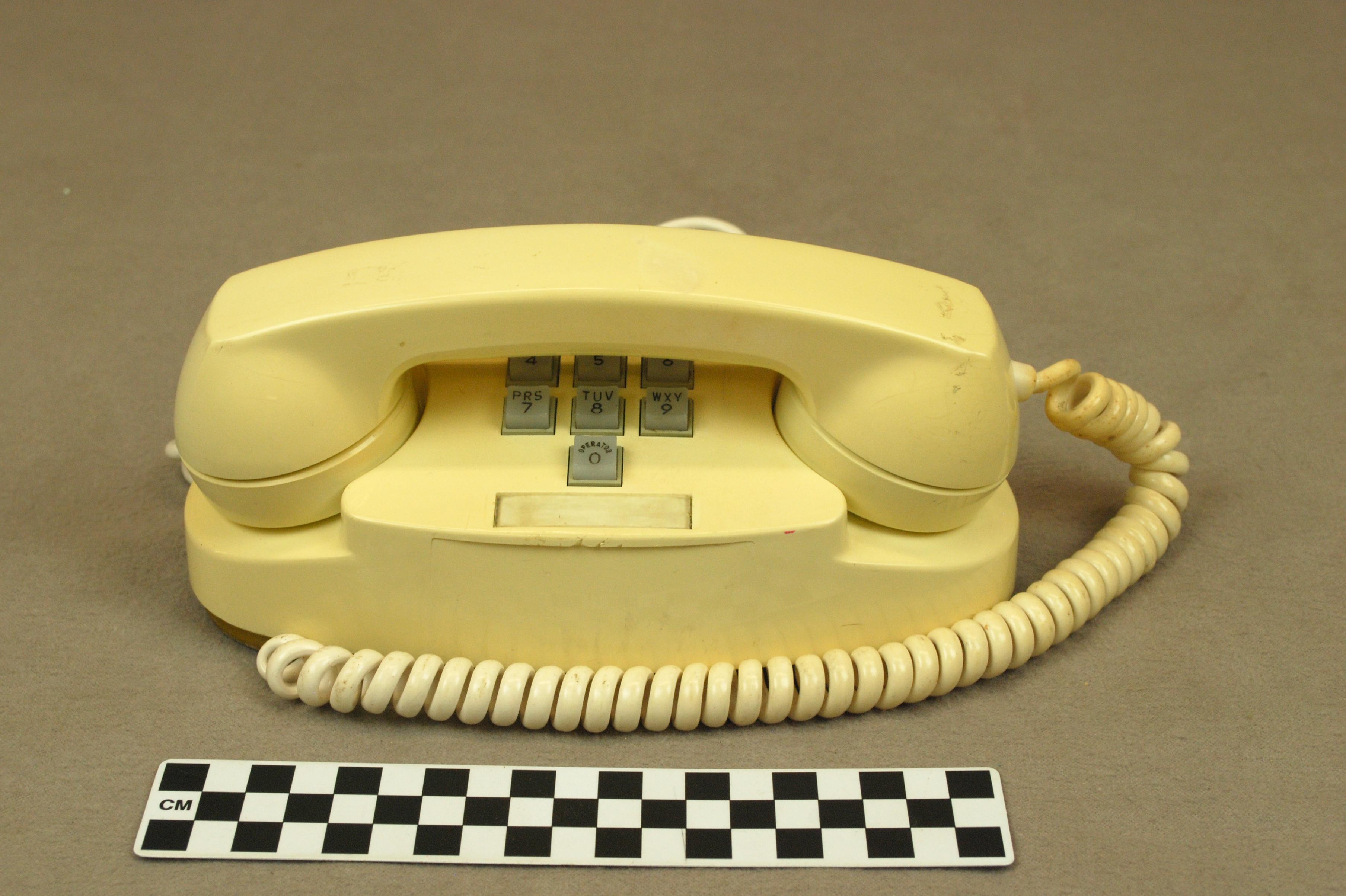 Object: Telephone (Princess Telephone) | UTSA Institute Of Texan Cultures