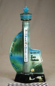Object: Decanter (HemisFair '68 Jim Beam Decanter Souvenir)