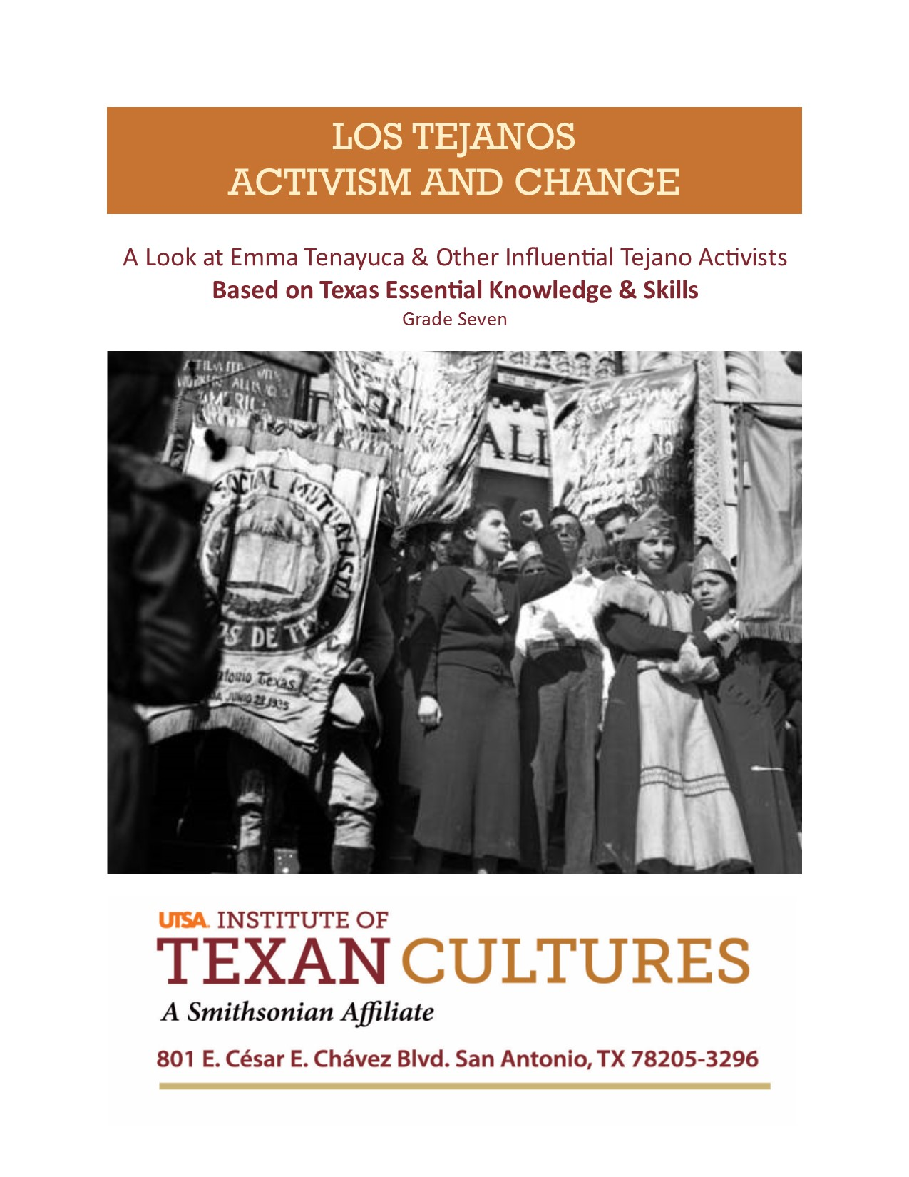 A Look at Emma Tenayuca and Other Influential Tejano Activists | UTSA Institute Of Texan Cultures