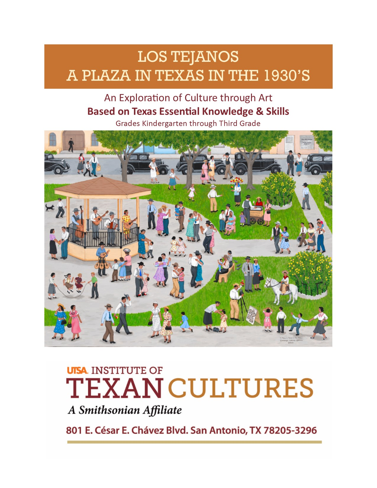 A Plaza in Texas in the 1930s: An Exploration of Culture through Art | UTSA Institute Of Texan Cultures