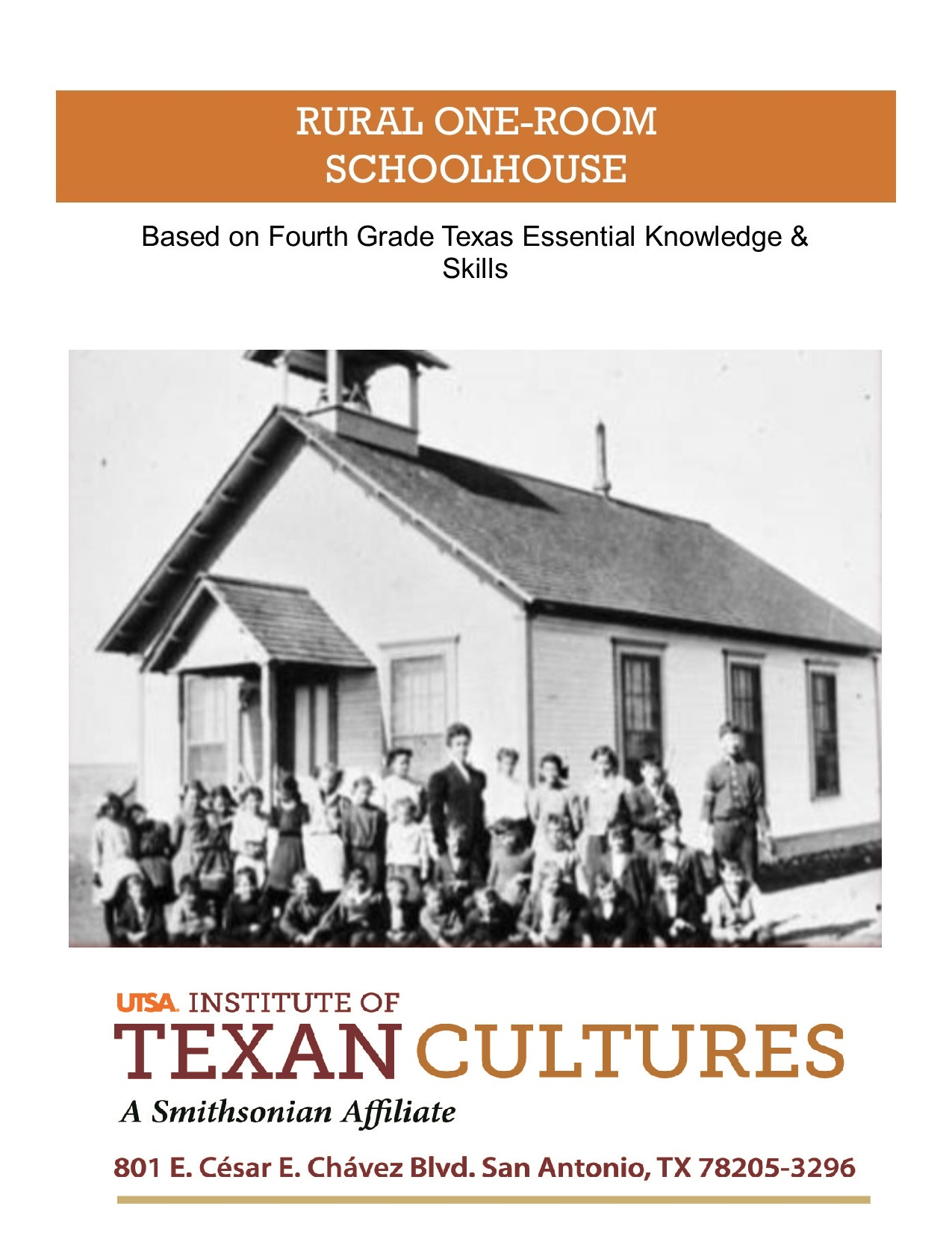 Rural One-Room Schoolhouse | UTSA Institute Of Texan Cultures