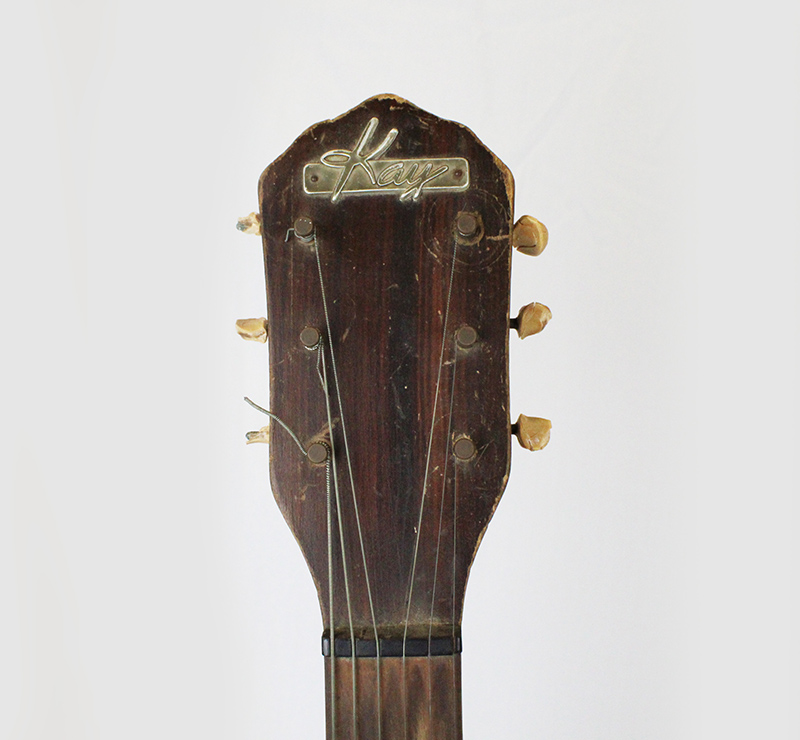 Lightnin' Hopkins Kay Guitar | UTSA Institute Of Texan Cultures