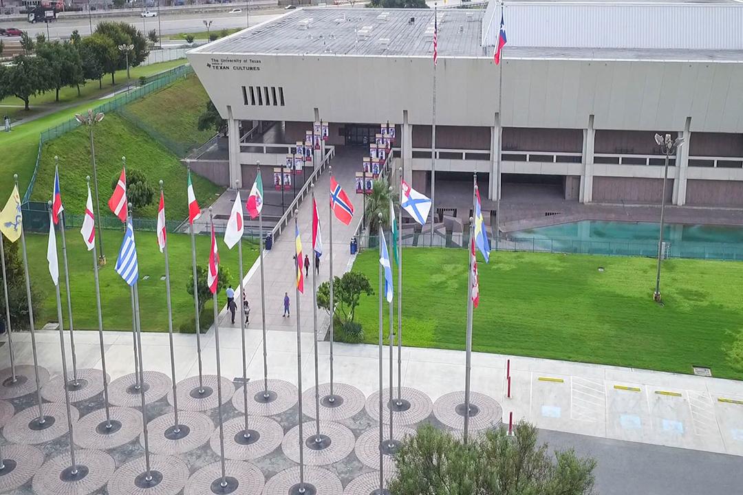 UTSA Institute of Texan Cultures Aerial View